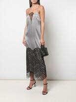 Thumbnail for your product : Kiki de Montparnasse Lace Inset Gown