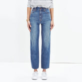 Madewell Westside Straight Jeans in Murphy Wash