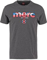 Merc Broadwell Print Tshirt Marl Charcoal