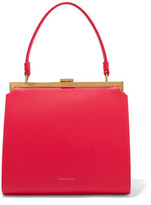 Mansur Gavriel Elegant Leather Tote - Red