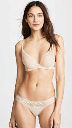 Calvin Klein Underwear Perfectly Fit Perennial Lightly Lined Plunge Bra