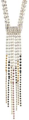 Rosantica Sublime Multicolor Crystal Fringe Necklace