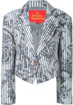 Vivienne Westwood 'Ticking' blazer - women - Cotton/Viscose - 42