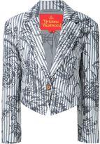 Vivienne Westwood 'Ticking' blazer - women - Cotton/Viscose - 42