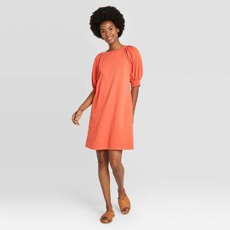 Universal Thread Women's Puff Short Sleeve T-Shirt Dress - Universal ThreadTM