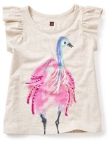 Tea Collection Toddler Girl's Emu Graphic Tee
