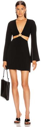 Cinq à Sept Sola Dress in Black | FWRD