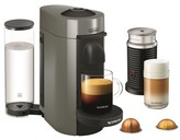 De'Longhi DeLonghi Nespresso Vertuo Plus Coffee and Espresso Machine by with Aeroccino, Gray