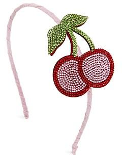 GiGi Girls' Cherries Emoji Embellished Headband