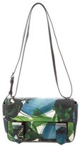 Reed Krakoff Floral Print Leather Academy Crossbody Bag