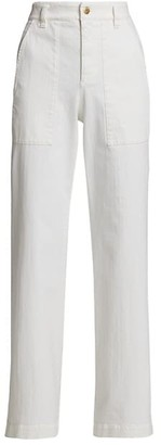Brunello Cucinelli Denim Pants With Long Stitched Pockets
