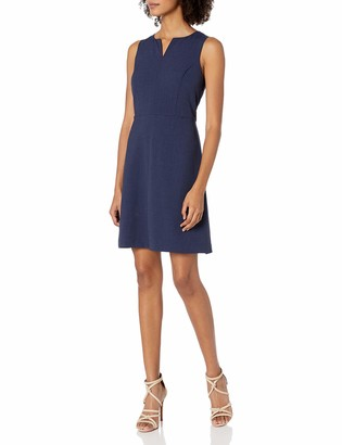 Kensie Women's Heather Stretch Crepe Dress