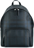 Burberry checked backpack - men - PVC - One Size