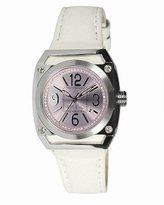 Breil Milano Gear TW0697 Stainless Steel Case Leather Mineral Women's Quartz Watch