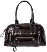 Longchamp Patent Shoulder Bag.