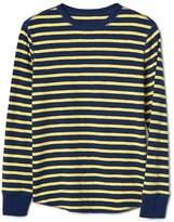Gap Stripe waffle-knit tee