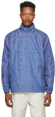 Martine Rose Blue Crick Print Jacket