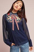 Atsu Diti Embroidered Blouse
