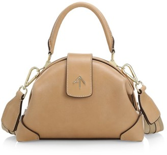 Atelier Manu Demi Leather Top Handle Bag