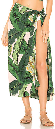 Beach Riot x REVOLVE Palm Sarong Cover Up