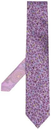 Etro Floral Silk Tie