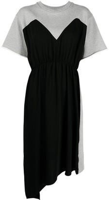 MM6 MAISON MARGIELA Colour-Block Jersey Dress