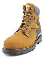 "Carhartt 6"" Work Boot Men W Round Toe Leather Brown Work Boot."