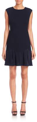 Rebecca Taylor Stacy Mini Flounce Dress