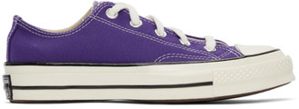 Converse Purple Chuck 70 OX Sneakers