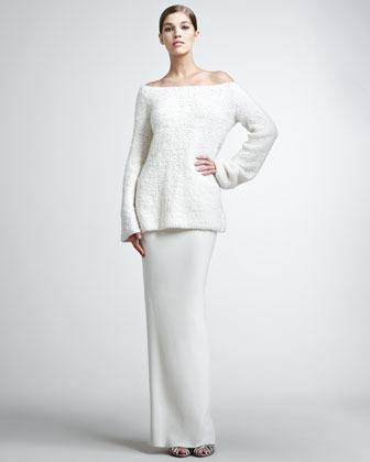 Donna Karan Cashmere Long Skirt
