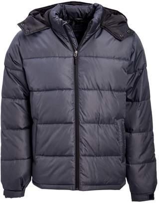 Cherokee Men's Non-Denim Casual Jackets Charcoal - Charcoal Promo Puffer Coat - Men