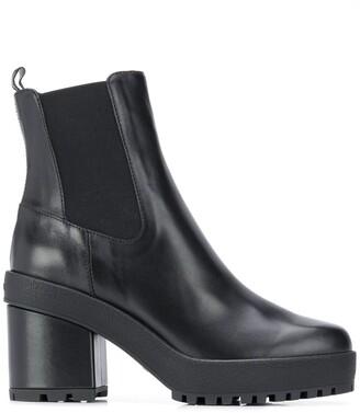 Hogan elasticated panel Chelsea boots