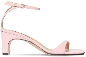 Sergio Rossi 60mm Patent Leather Sandals