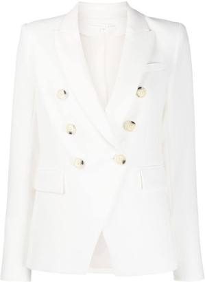 Veronica Beard Double Breasted Fitted Blazer