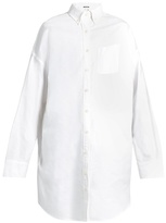 R 13 Oversized oxford-cotton shirt
