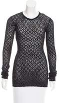Dolce & Gabbana Long Sleeve Open Knit Tunic