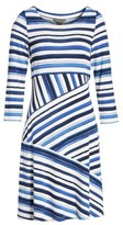 Tommy Bahama Women's Aquarelle Stripe A-Line Dress