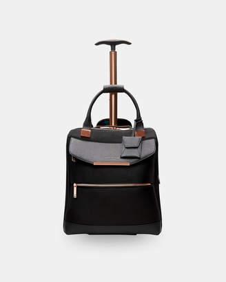 Ted Baker AMITHIA Metallic trim travel bag