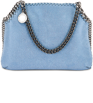 Stella McCartney Medium Shaggy Deer Shoulder Bag in Light Blue | FWRD