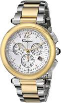 Salvatore Ferragamo Women's F77LCQ9502 S095 Idillio Gold Ion-Plated Stainless Steel Watch