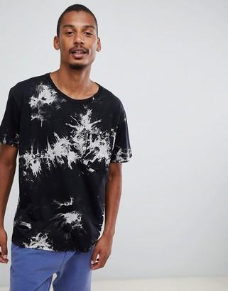 Dr. Denim Archer t-shirt in black