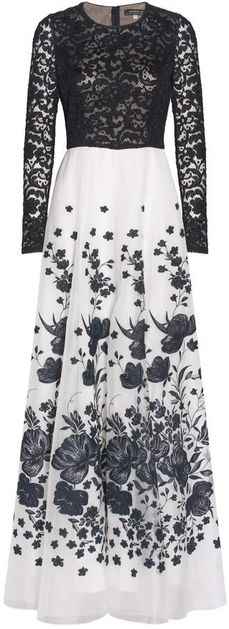 Andrew Gn Woven Lace Dress