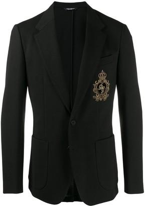 Dolce & Gabbana Embroidered Blazer