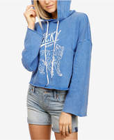 Lucky Brand Lucky Bear Cotton Graphic-Print Hoodie