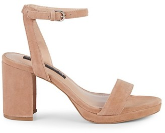 Steven by Steve Madden Vice Suede Block Heel Sandals