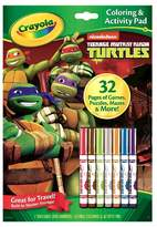 Crayola Coloring and Activity Pad - Teenage Mutant Ninja Turtles