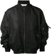Damir Doma oversized bomber jacket - men - Silk/Polyamide - XS