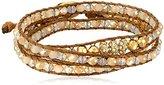 "lonna & lilly Classics"" Gold-Tone/Natural Multi-Wrap Bracelet"
