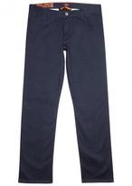 Dockers Alpha Dark Blue Stretch Cotton Trousers