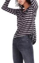 Madewell Women's Anthem Stripe Long Sleeve Tee